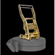 Kit Slackline Prodige 17m Gris silver