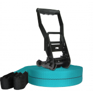 Kit Slackline Prodige 17m+ Turquoise teal