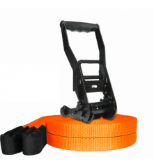 Kit Slackline Prodige 17m+ Orange FLUO