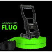 Kit Slackline Prodige 17m+ Vert FLUO